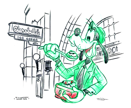Disneyland Resort Sketch Artist Program