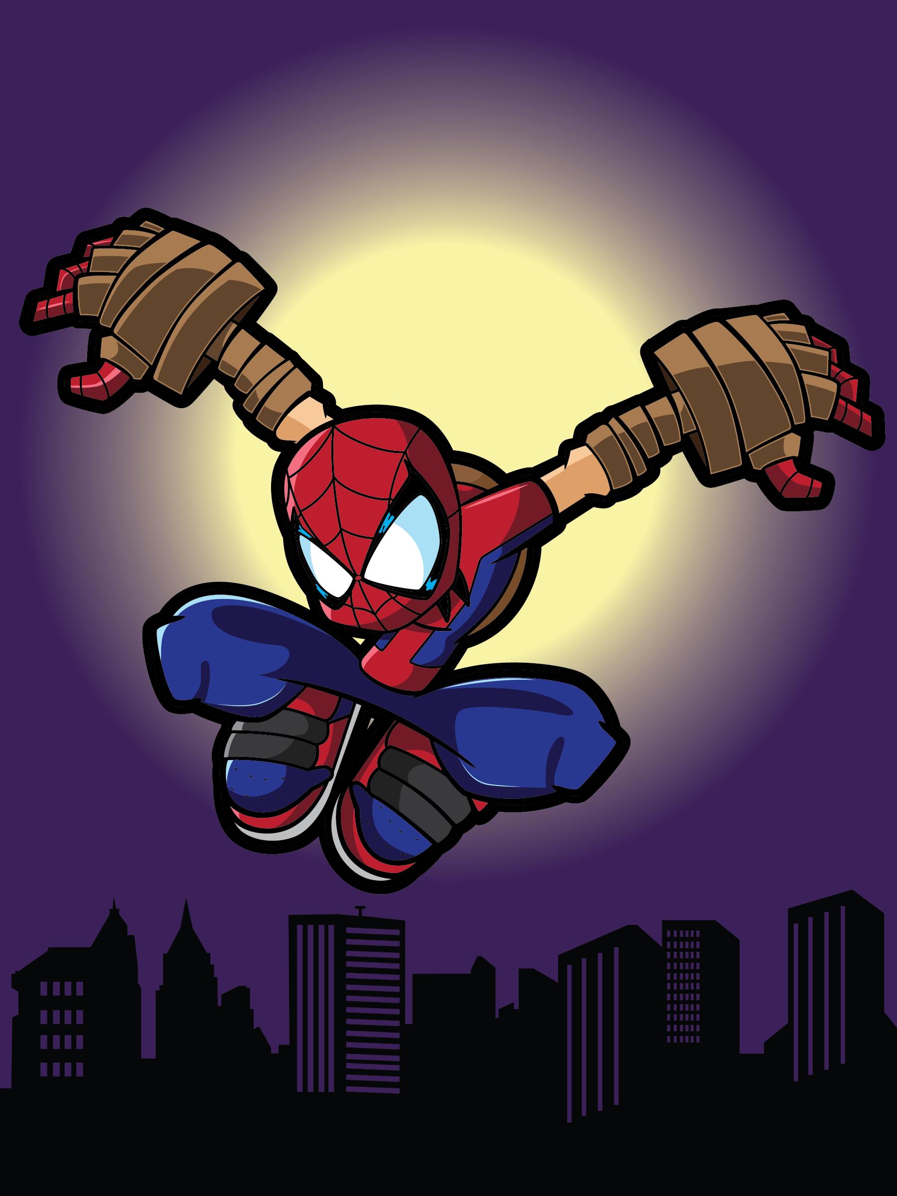 Spider Man Legend Of The Spider Clan Patrick Sierra