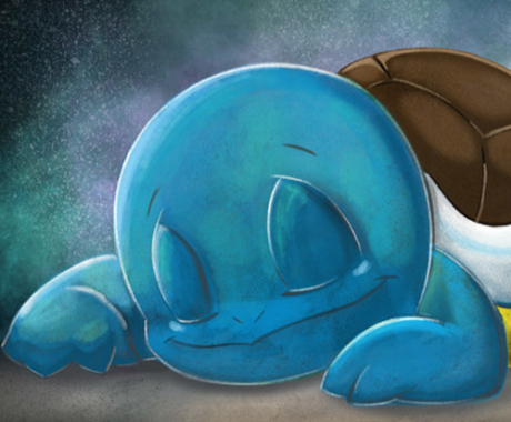 Bedtime Squirtle